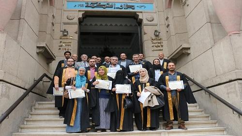 الأطباء العرب يحتفل بتخريج الدفعة الخامسة بدبلوم الموجات فوق الصوتية