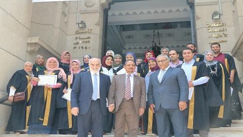 الأطباء العرب يحتفل بتخريج الدفعة 20 للدبلوم المهني فى جودة الرعاية الصحية