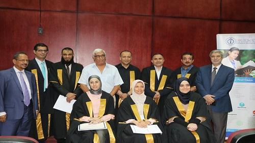 معهد معتمد بالأطباء العرب يحتفل بتخريج دفعة جديدة فى الإحصاء الطبى